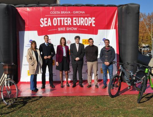 The Girona Provincial Council and City Council renew their commitment to the Sea Otter Europe Costa Brava-Girona Bike Show